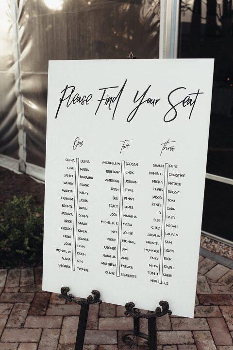 Custom Handpainted Signage featured in Vogue Bride Australia