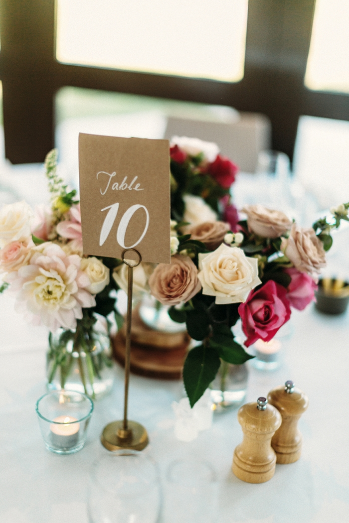 kraft table number