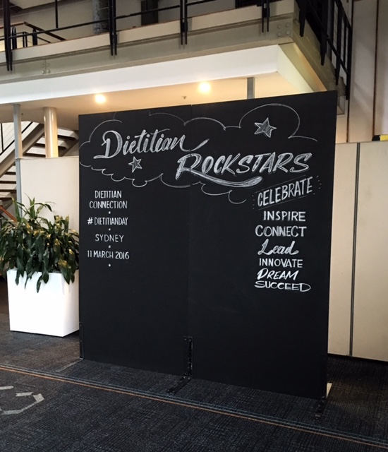 dietician chalk photobooth